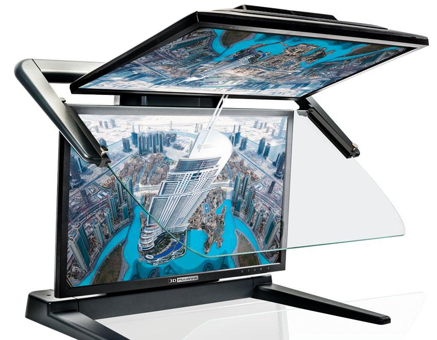 3d stereoscopic monitor